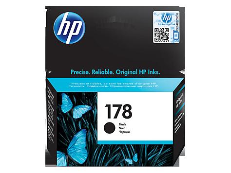 HP 178 Black Original Ink Cartridge