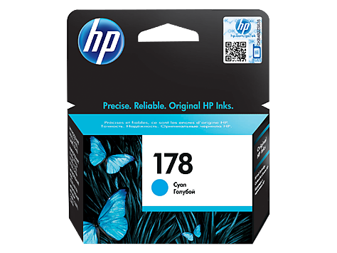 HP 178 Cyan Original Ink Cartridge