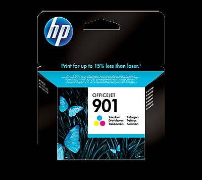 HP 901 Tri-color Original Ink Cartridge