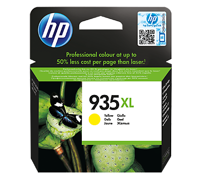HP 935XL High Yield Yellow Original Ink Cartridge
