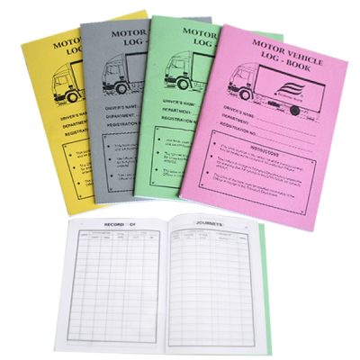 Motor Vehicle Log Book_600_600